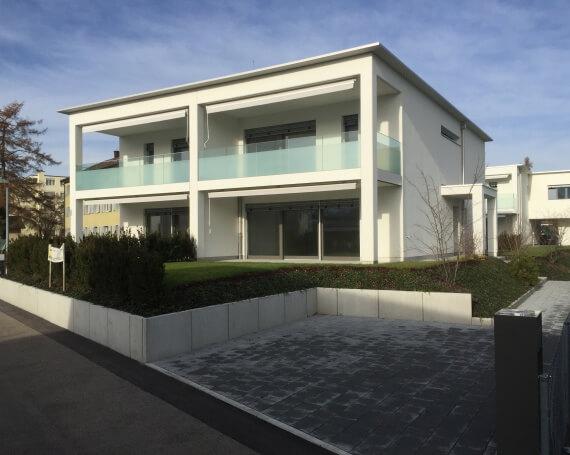 Neubau Doppel-Einfamilienhäuser an der Porthofstrasse / Lilienstrasse in Jona
