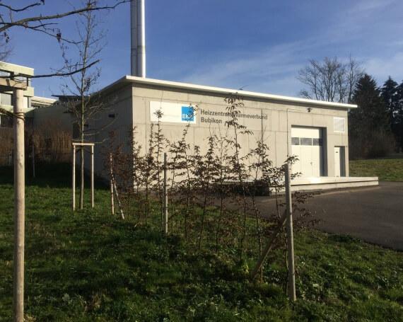 Neubau Heizzentrale «Wärmeverbund Bubikon» an der Berglistrasse in Bubikon