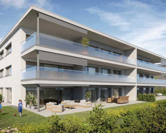 Neubau Mehrfamilienhaus an der Greithstrasse in Rapperswil