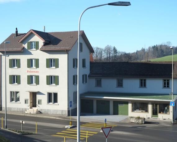 Umbau und Sanierung Haus «Felsenau» an der Laupenstrasse in Wald