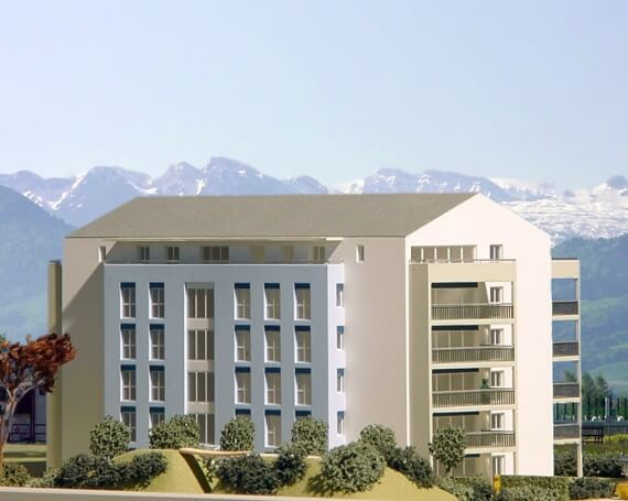 Neubau Überbauung «Blumenau» in Jona