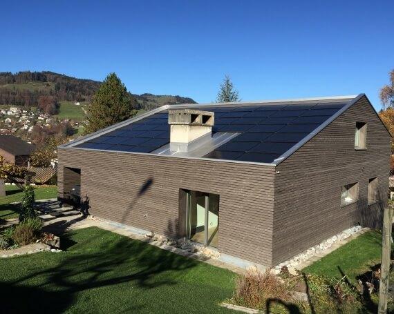 Sanierung und Umbau eines Einfamilienhauses in Wald