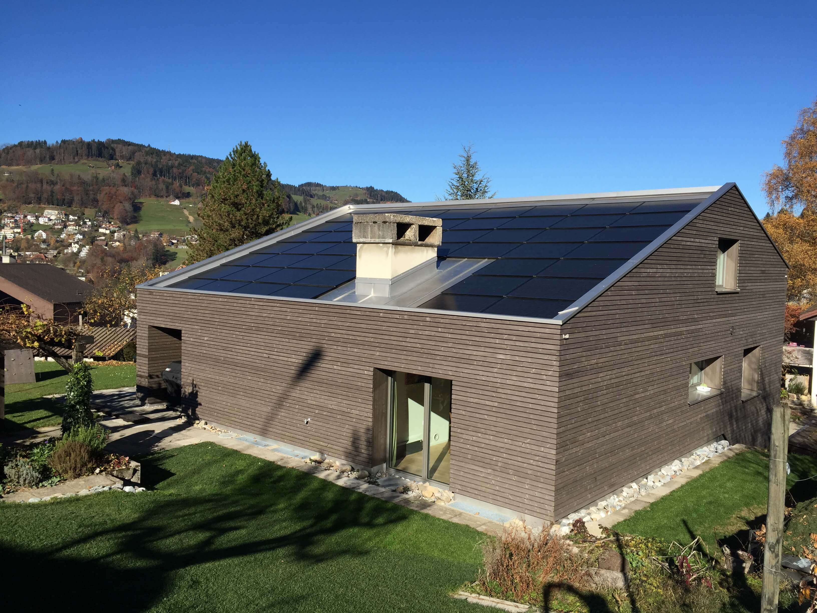 sanierung und umbau eines einfamilienhauses in wald. Black Bedroom Furniture Sets. Home Design Ideas