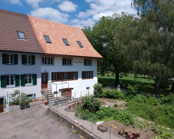 Sanierung eines Wohnhauses im Engelberg in Wolfhausen