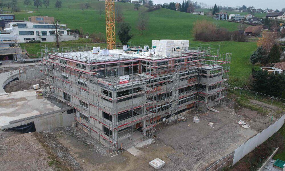 Neubau MFH «SOL» am Bachtelblick in Richterswil – Impressionen