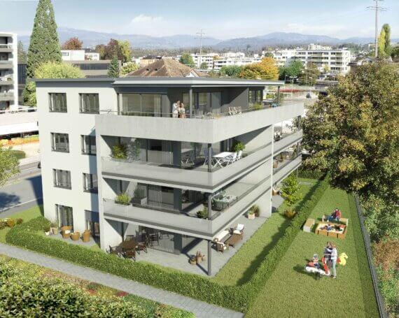 Neubau MFH an der Neue Jonastrasse 124 in Rapperswil